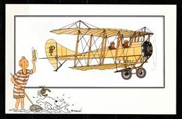 "TINTIN / Chromo ""Voir Et Savoir"" Par Hergé : Aviation Origine N° 51 - Edition LOMBARD - Cromo"