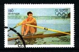 SVEZIA - SVERIGE - Year 1976 - ATLETICS - BOATING - AIRMAIL - Usato - Used - Utilisè - Gebraucht.- - Zomer 1976: Montreal