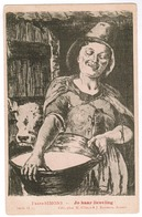 Frans Simons, Jo Haar Lieveling. H Climan & J Ruyssers, Anvers, Antwerpen (pk55089) - Peintures & Tableaux