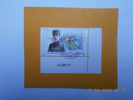 FRANCE 2017 PA  YTN° 81 GEORGES GUYNEMER (1894-1917)  Timbre Neuf Oblitéré Cachet Rond Daté - Gebraucht