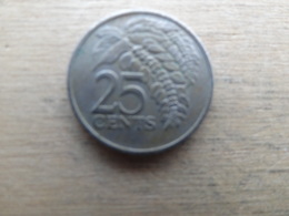 Trinite & Tobago  25  Cents  1976  Km 32 - Trinité & Tobago