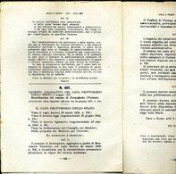 237 DECRETO 1947 , RICOSTITUZIONE DEI COMUNI DI NONIO CENATE SOTTO E SOPRA S. PAOLO D'ARGON TIARNO DI SOPRA E SOTTO BESE - Decreti & Leggi