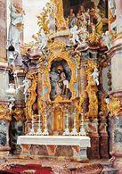 1 AK Germany Bayern .* Wieskirche Bei Steingaden - Mit Hoch- Und Hauptaltar - Seit 1983 UNESCO Weltkulturerbe * - Germania
