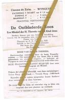 Wingene: 192., Cinema De Zalm, 'Prachtige Vertooningen Van De Ontbladerde Roos' (2 Scans) - Non Classés