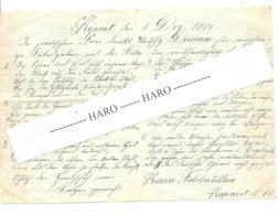 GUERRE 14/18 - Lettre D'un Soldat Allemand D'Eupen/Belgique à Sa Famille écrite De RIPONT (Rouvroy) Le 01/12/1914 (nod 1 - 1914-18