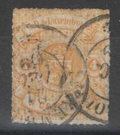 Luxembourg - YT 14 Oblitéré - 1859-1880 Armoiries