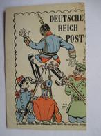 DEUTSCHE REICH POST  -  LE NOUVEAU TIMBRE ALLEMAND       TTB - Humoristiques