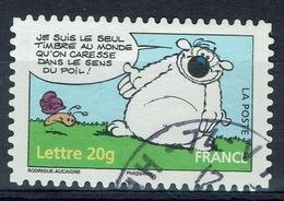 """France, Cubitus, Dog Character, """"Je Suis Le Seul Timbre Au Monde…"""", 2006, VFU Self-adhesive - France"""