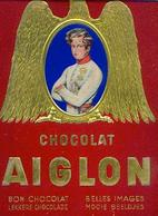 (chocolat) AIGLON – Version 720 Chromos Avec « Chocolat AIGLON – Bon Chocolat – Belles Images (bilingue)»  Album Complet - Aiglon