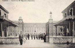 10031. CPA 65 TARBES. CASERNE DU 12è REGIMENT D'INFANTERIE 1916 - Tarbes
