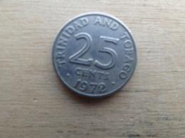 Trinite & Tobago  25  Cents  1972  Km 4 - Trinité & Tobago