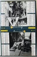 Almanach Calendrier Du Facteur La Poste Ptt Année 2007 ISERE  Theme Doisneau - Calendriers