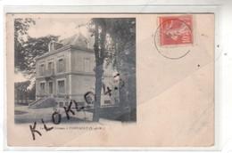 77 Le Petit Château De PONTAULT ( Seine Et Marne ) - Vue De Profil De La Maison Bourgeoise Carrée - CPA  Généalogie - Pontault Combault