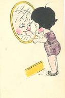 Postzegels Uit Belgie In Getekende Kaart  (fantasiekaart Kinderkaart) - Postzegels (afbeeldingen)