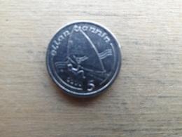 Ile De Man  5  Pence  1990 Aa  Km 209.2 - Monnaies Régionales