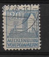Deutschland Sowjetische  Zone Mecklenburg Vorpommern 38y - Soviet Zone