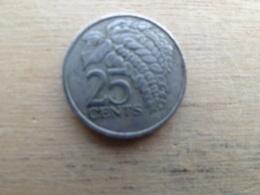 Trinite & Tobago  25  Cents  1980  Km 32 - Trinité & Tobago