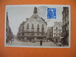 CPA   Dieppe -  Tour De France  Cycliste  7 Juillet 1955 - Place Du Puits-Salé Et Grande-Rue - Dieppe