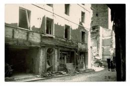 Carte Photo - Cluny - Bombardement  11 Août 1944 - Rue Merçière, Libération Le Même Jour Par Les Maquisards - Pas Circ - Cluny