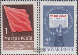 Ungarn 1559A-1560A (completa Edizione) MNH 1958 Comunista Festa - Unused Stamps