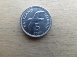 Falkland  5  Pence  2004  Km 132 - Falkland Islands