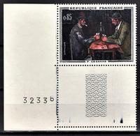 FRANCE 1961 - Y.T. N° 1321 COIN DE FEUILLE - NEUF** - France