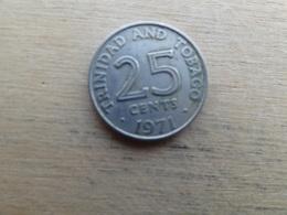 Trinite & Tobago  25  Cents  1971  Km 4 - Trinité & Tobago