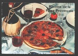 Recette De La Pizza Provençale - 1966 - Recettes (cuisine)