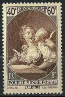 "FR YT 446 "" Pour Le Musée Postal "" 1939 Neuf** - Unused Stamps"