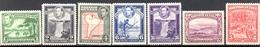 Guyane Britannique - 1936/1945 - Yt 162/163/164/165/167/172a/174 - Georges VI - * Charnières - Guyane Britannique (...-1966)
