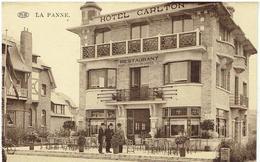 LA PANNE - Hotel Carlton - Bld De Dunkerque 31 - De Panne