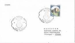 31298. Carta PERGOLA (PS) Italia 1989. Vino, Wein, Vine, Festa Del Vino - 6. 1946-.. Repubblica