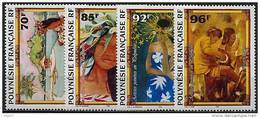 Polynésie, N° 520 à N° 523** Y Et T - Polinesia Francesa