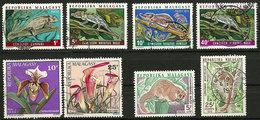 Madagascar - 1973 - Faune Et Flore - 8 TP - Oblitéré - Timbres