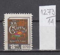 14K1273 / THE JOY OF CAMPING Richard W. Langer  8.95 $ CINDERELLA LABEL VIGNETTE - Cinderellas