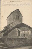 71 BESANCEUIL  L'Eglise XII  1917 - Eglises Et Couvents