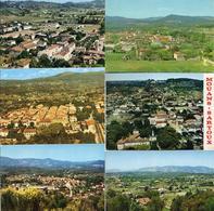 CPA 06 Alpes-Maritimes Mouans-Sartoux Vue Générale Aérienne Fond Mougins Castellaras - Autres Communes