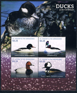 Bloc Sheet Oiseaux Canards Birds Ducks Neuf  MNH **  St Vincent Grenadines  2015 - Canards
