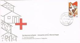 31300. Carta F.D.C. RIBEIRAO PRETO (Brasil) 1980. Dia Saude. SALUD, Cruz Roja, Medicina - FDC