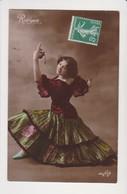 26736 RODRIGUEZ -danse Flamenco Femme Espagnole -ed DLG 395/8 -1908 - Danse
