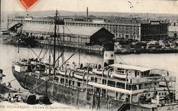Dunkerque Un Coin Du Bassin Freycinet ( Halle Aux Sucres ; Envoyée Au Sous Brigadier Des Douanes à Hergnies - Dunkerque