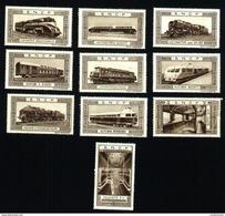 Lot Vignettes SNCF : Locomotives & Wagons (Art. N° 589-5) - Andere