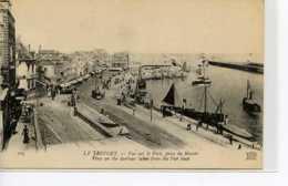 Dpt 76 Le Treport Vue Sur Le Port, Prise Du Musoir No105 ND Phot  1910 Neuve TBE - Le Treport