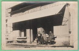 DRAPERIES - J. M. ABADIE - FACADE DU MAGASIN - CARTE PHOTO A SITUER - Shops