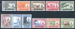 MALAYA 1960** - Stato Di Penang  -  11 Val. MNH, Come Da Scansione. - Malesia (1964-...)