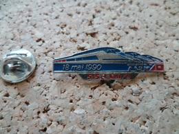 PIN'S   TGV  RECORD  VITESSE  18 MAI 90 - TGV