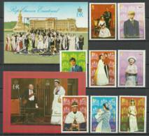 Equatorial Guinea 1978 Year , Set+2 Blocks Mint  MNH (**) - The Royal Family - Äquatorial-Guinea