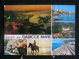 AN 105 - Gabicce Mare - Saluti Da Gabicce Mare - Carte Multivues - Circulé 1961 - Italy