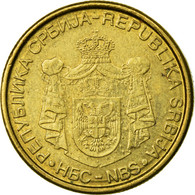 Monnaie, Serbie, 2 Dinara, 2006, TB+, Nickel-brass, KM:46 - Serbie