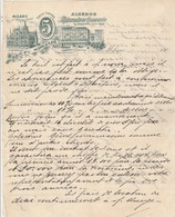 Italie  Lettre Illustrée 2/7/1904 MORANDI Albergo Ristorante Del Commercio MILANO - Italie